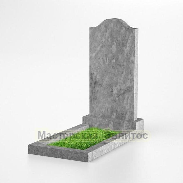 Фигурный памятник из мрамора №103