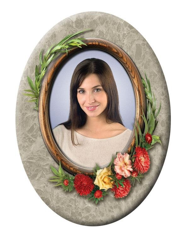 Портрет овальный №43