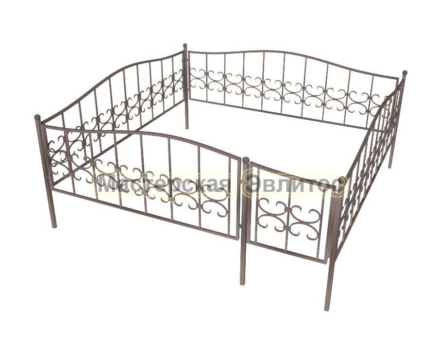 Ограда кованая К16